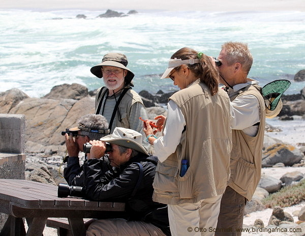 Birding the Tsaarsbank during a West Coast tour © Otto Schmidt